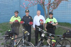 Boston attorney David W. White with Quincy Police Community Policing Unit