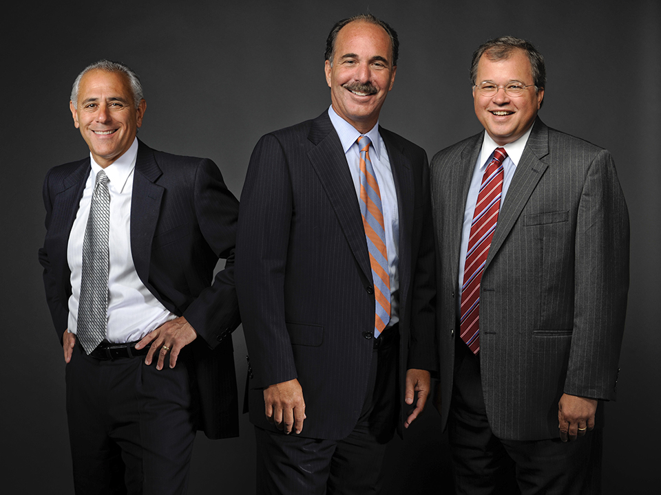 From left: Attorney Ronald E. Gluck, Attorney Marc L. Breakstone and Attorney David W. White of Breakstone, White & Gluck, a Boston law firm specializing in personal injury and medical malpractice.