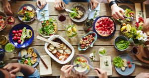 After a Massachusetts restaurant's food poisoning outbreak, friends eat a meal which has been safely prepared.
