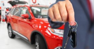 Used car dealer holding keys to unsafe car in Massachusetts.