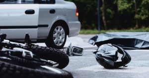 Motorcycle accident in Boston, Massachusetts