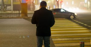 Pedestrian accidents at night